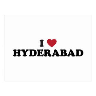 Cartão Postal Mim coração Hyderabad