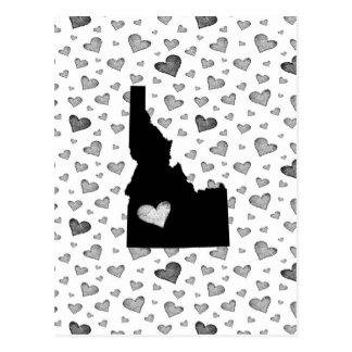 Cartão Postal Mim coração Idaho EUA