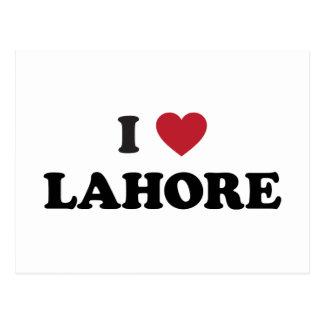 Cartão Postal Mim coração Lahore Paquistão