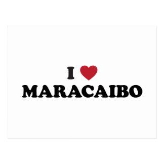 Cartão Postal Mim coração Maracaibo Venezuela