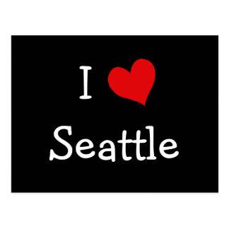 Cartão Postal Mim coração Seattle