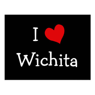 Cartão Postal Mim coração Wichita