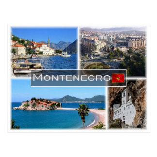 Cartão Postal MIM Montenegro -