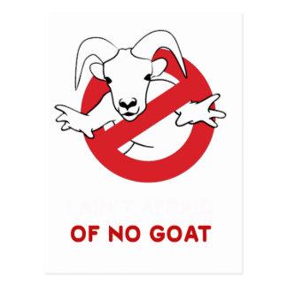 Cartão Postal Mim tia nenhuma cabra