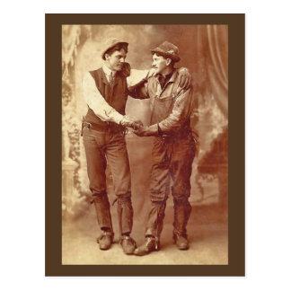 Cartão Postal Mineiros no amor