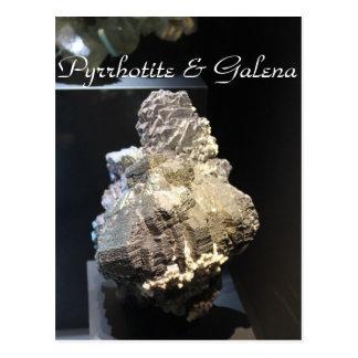 Cartão Postal Minerais & gemas # 109