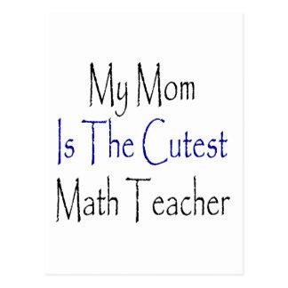 Cartão Postal Minha mamã é o professor de matemática o mais