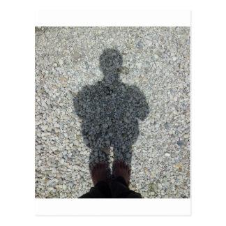 Cartão Postal Minha sombra
