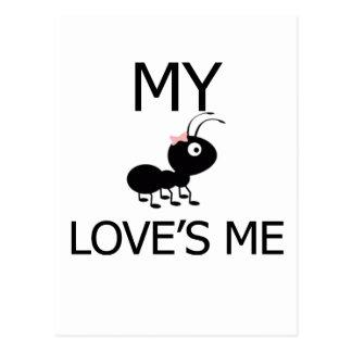Cartão Postal Minha tia Amor Me