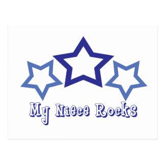 Cartão Postal Minhas rochas da sobrinha