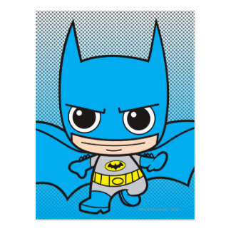 Cartão Postal Mini funcionamento de Batman