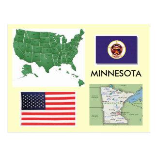 Cartão Postal Minnesota, EUA