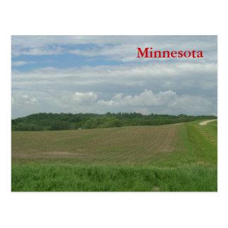 Cartão Postal Minnesota rural