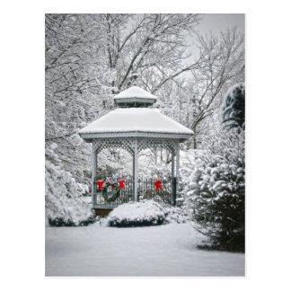 Cartão Postal Miradouro na neve