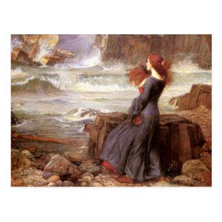 Cartão Postal Miranda - a tempestade