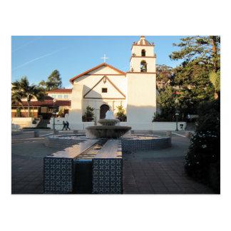 Cartão Postal Missão de Ventura da alameda através do St.