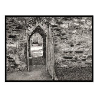 Cartão Postal Missões de San Antonio - porta velha