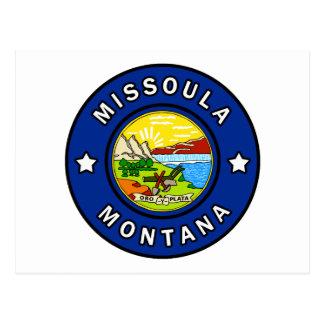 Cartão Postal Missoula Montana