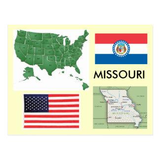 Cartão Postal Missouri, EUA