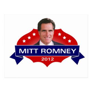 Cartão Postal Mitt Romney 2012 para o presidente
