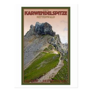 Cartão Postal Mittenwald - Karwendelberg