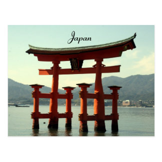 Cartão Postal miyajima japão