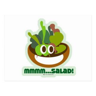Cartão Postal Mmmm salada