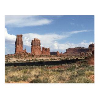Cartão Postal Moab, paisagem de UT