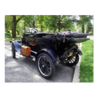 Cartão Postal Modelo T com bagagem Rack
