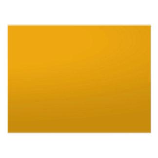 Cartão Postal MODELO vazio do ouro: Adicione o texto, imagem,
