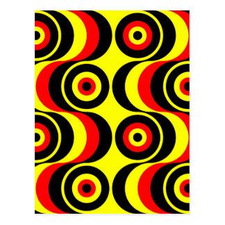 Cartão Postal Modelos abstractos