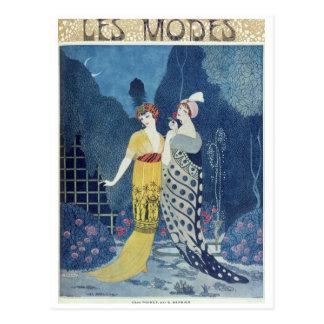 Cartão Postal Modos de Les