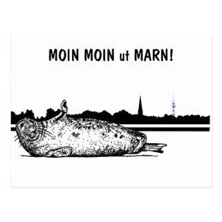 Cartão Postal MOIN MOIN ut MARN!