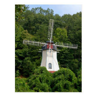 Cartão Postal moinho de vento de Helen Geórgia