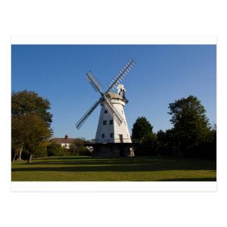 Cartão Postal Moinho de vento de Upminster