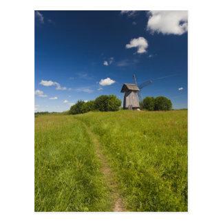 Cartão Postal Moinho de vento em Mikhailovskoye