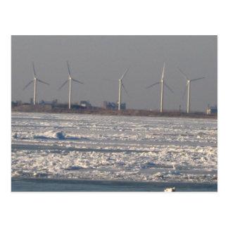 Cartão Postal moinhos de vento do búfalo, NY