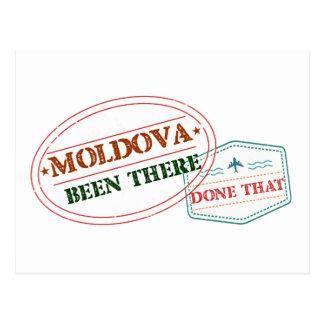 Cartão Postal Moldova feito lá isso