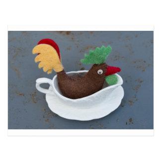 Cartão Postal Molho da galinha