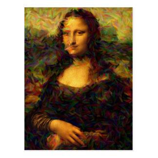 Cartão Postal Mona lisa Paris