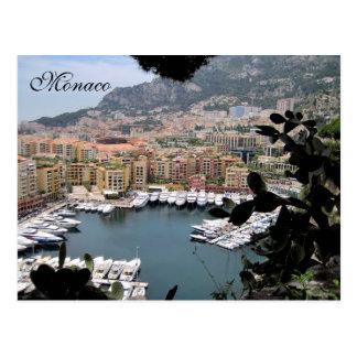 Cartão Postal Monaco, Riviera francês, France