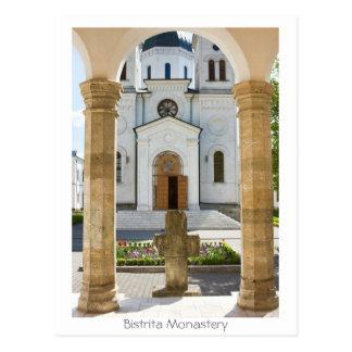 Cartão Postal Monastério de Bistrita