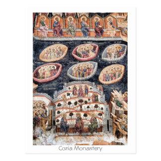 Cartão Postal Monastério de Cozia