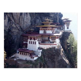 Cartão Postal Monastério de Taktshang, Paro, Bhutan