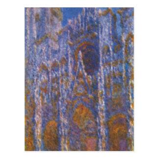 Cartão Postal Monet, Claude Kathedrale von Rouen (bei do portal