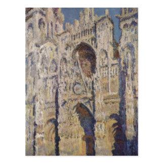 Cartão Postal Monet, Claude Kathedrale von Rouen (und do portal