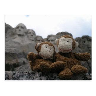 Cartão Postal monkey_chimp_rushmore.JPG