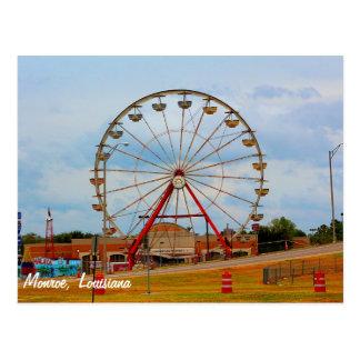 Cartão Postal Monroe Louisiana justo