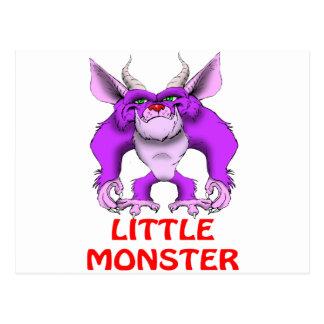 Cartão Postal monstro pequeno