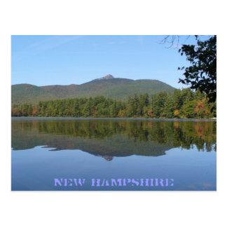 Cartão Postal Montagem Chocorus & lago Chocorua, New Hampshire